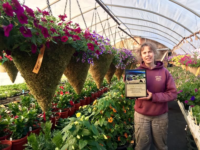 Award of Excellence for Outstanding Promotional Event at 2018 Landscape Ontario's Garden Centre Awards